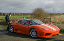 Sam of STG drives his dreamcar, the Ferrari Challenge Stradale!